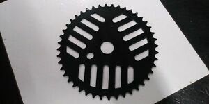 1-Black-44-Tooth-BMX-Bike-Cheese-Grater-Chain-Ring-Sprocket-for-GT-Mongoose