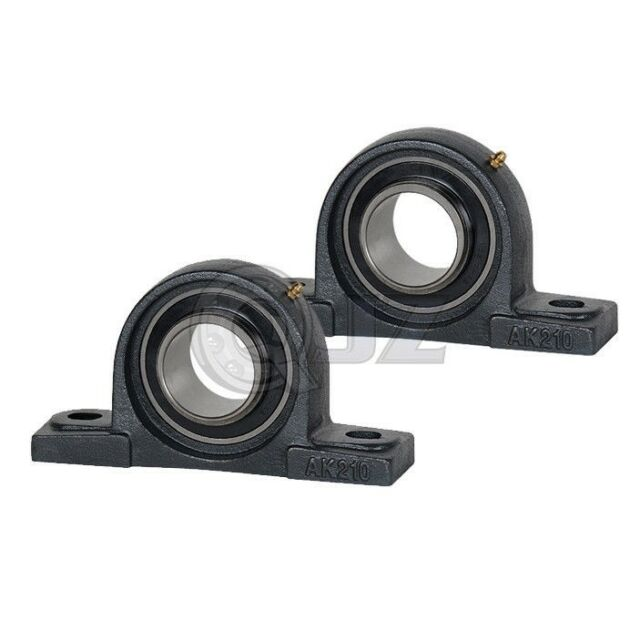 2x 1.375 in Pillow Block Cast Iron SBLP207-22 Mounted Bearing SB207-22G+LP207