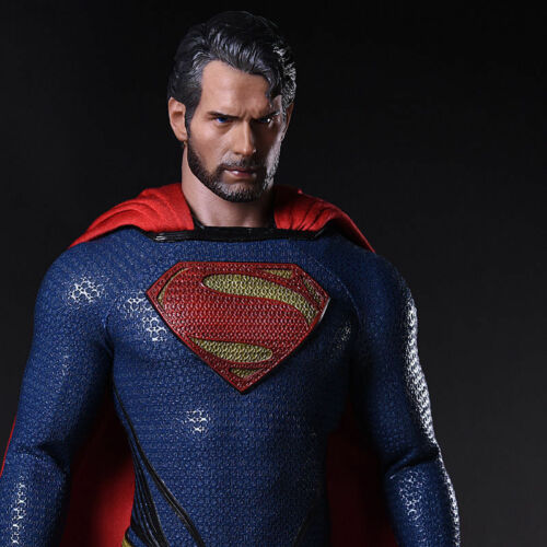"""1//6 Scale Henry Cavill Head Carving Model F 12/"""" Male Action Figure Body"""