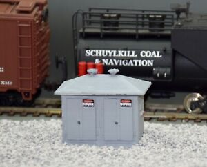 HO-Scale-Electrical-Control-Cabinet-Model-Railroad-Handcrafted-Custom-Designed