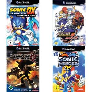Nintendo-GameCube-Best-of-Sonic-the-Hedgehog-Spiele-Zustand-auswahlbar