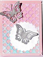 1 Butterfly Dies Butterfly 2-1/2 You Get Photo 2 Metal Die