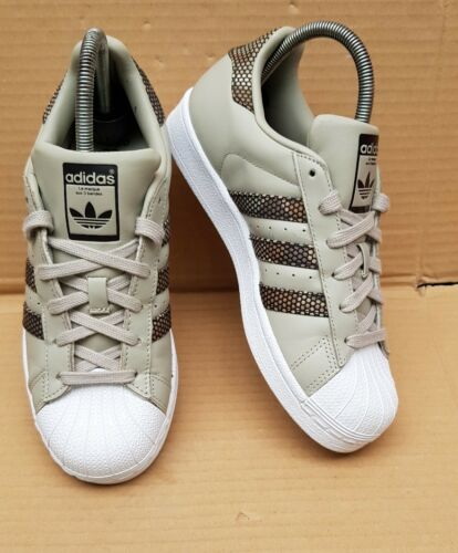 Uk Trainers Exclusive Superstar Rare Edition Size Excellent 4 Adidas Spot Grey 8qFSwwY5