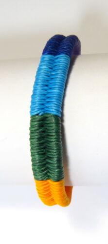 Armband Armschmuck Surferarmband Ethno geflochten Regenbogen bunt Unisex NEU