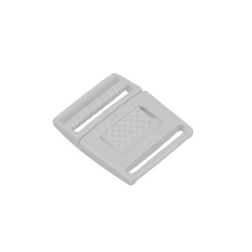 "Flyshop 5Pcs 5//8/"" White Plastic Center Release Buckle for Paracord Bracelet K003"