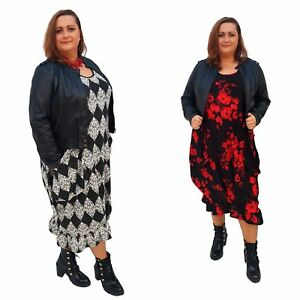 Wolfairy-Plus-Size-Long-Dress-Pockets-Frill-Long-Sleeve-Winter-Lagenlook-Pockets