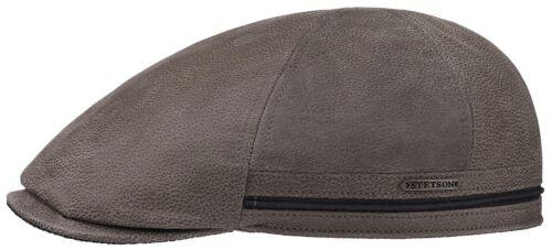 Stetson Cuir Flatcap Casquette Bonnet redding peau de vache 51 hellkhaki neuf tendance