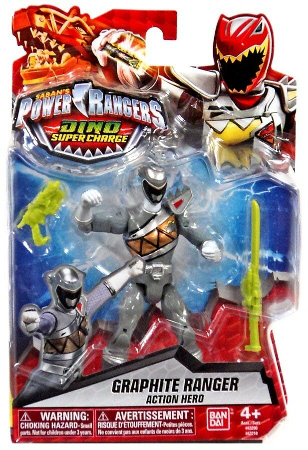 Power rangers dino - ranger action - figur für graphit