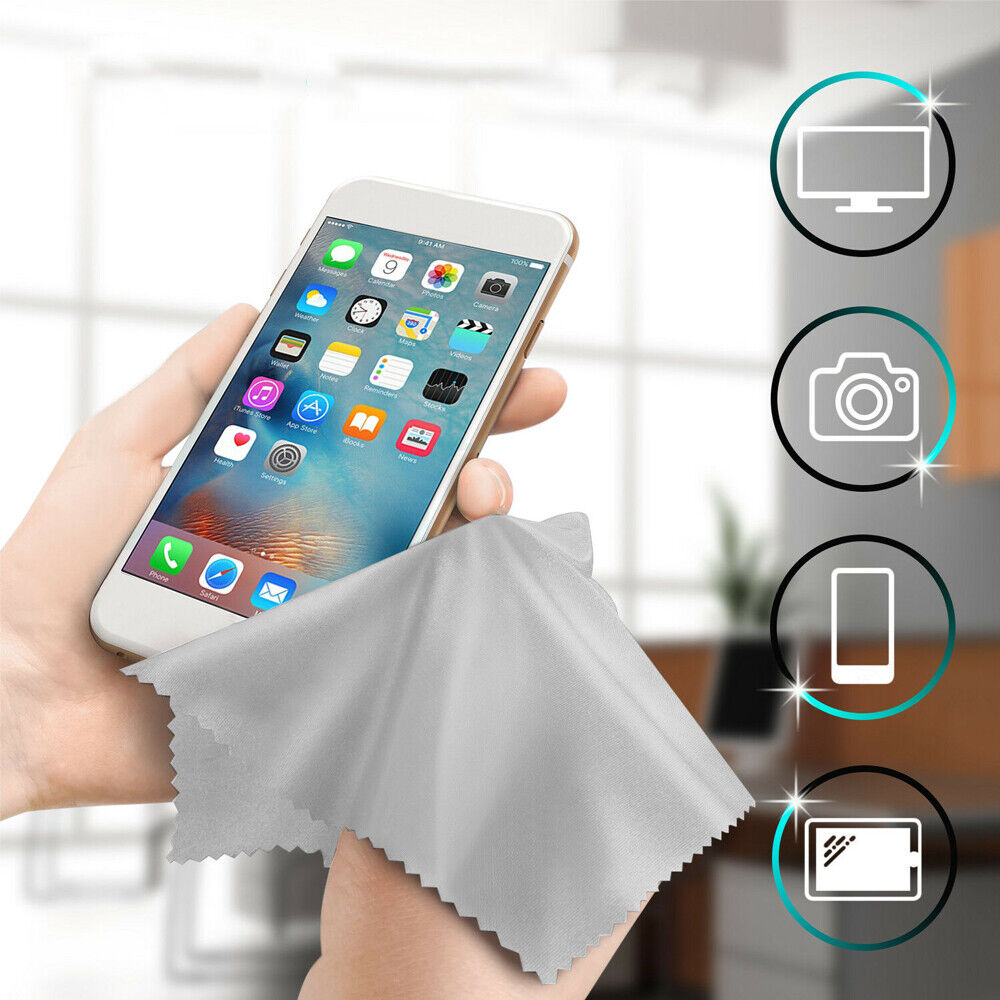 10pcs Microfiber Cleaner Cleaning Cloth For Phone-Screen Camera Lens Eye Glasses