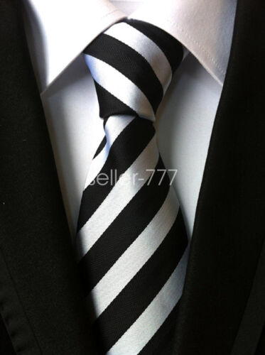 Fashion Mens Classic 100/% Silk Tie Necktie Striped JACQUARD WOVEN Neck Ties HOT