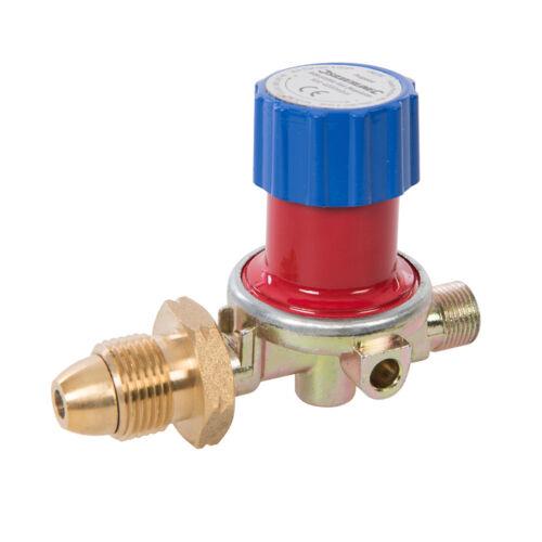 Genuine Silverline réglable gaz propane régulateur de 500-4000 mbar196559