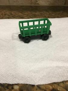 Thomas /& Friends Wooden Railway Train Tank Engine Green Circus Car GUC