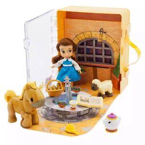 Disney-la-Belle-amp-la-Bete-Belle-Mini-Poupee-Animateur-Set-de-Jeux-Jouet-Emballe