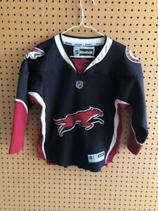sports shoes 3521a 6785f Details about Rare Arizona Coyotes Alternate 3rd Jersey NHL Reebok Youth Sz  Small Medium Sewn