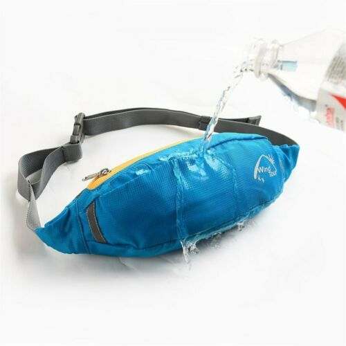 Sport Belt Waist Pack Pouch Water Bottle Holder Bag For Running Jogging oa