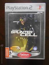 PS2 TOM CLANCY'S SPLINTER CELL - PLATINUM - PAL ESPAÑA - PLAYSTATION 2