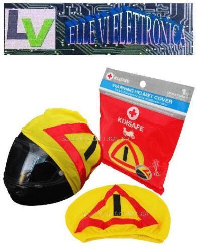 X004-69 KIKSAFE Cover Porta Casco Con Triangolo Segnalazione Emergenza