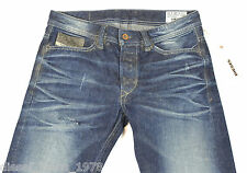 BRAND NEW DIESEL VIKER 880N JEANS 0880N 28X30 REGULAR FIT STRAIGHT LEG BNWT