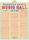 Bumper Book of Music Hall Songs: (Piano, Vocal, Guitar) by Faber Music Ltd (Paperback, 2008)