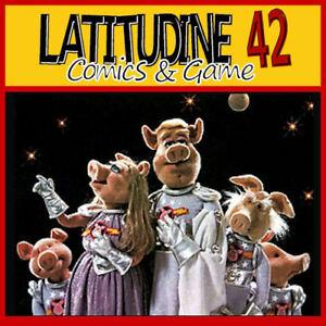 Muppets Show Porcs Dans Space Deluxe Figurine Piggy La série Muppet Nouveau
