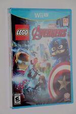 NINTENDO WII U LEGO Marvel's Avengers NEW SEALED SHIPS SAME DAY