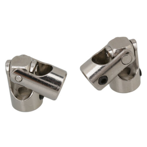 2x Shaft Coupling Motor Boat Connector Stainless Steel Universal Joint 4x4mm