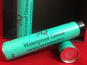 Cult Rare Phil Wood Waterproof Grease Cartridge 85gr./3 Oz Fits Donc Grease Gun-afficher Le Titre D'origine