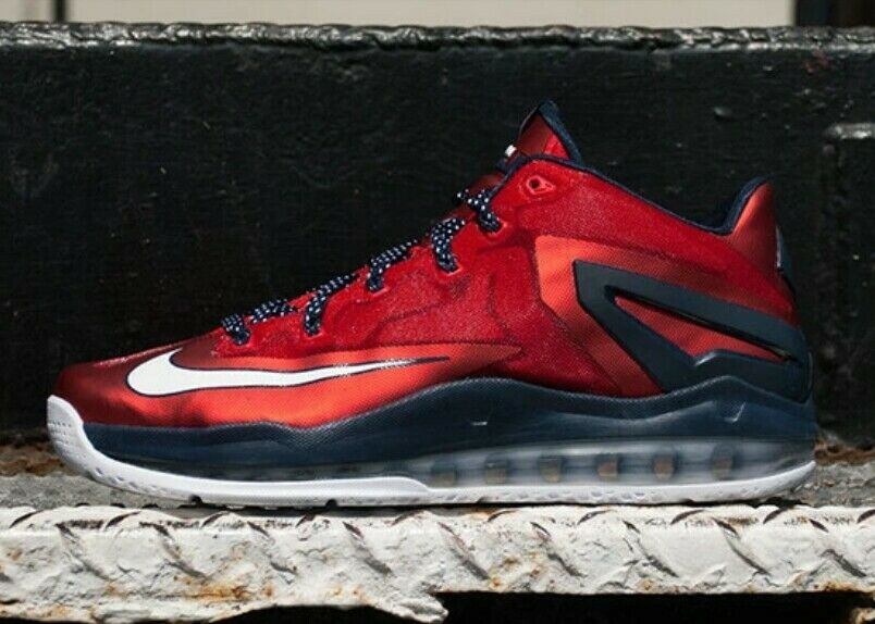 Nike Max Lebron XI Low 'Independence Day' - 642849 614