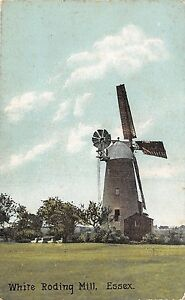 POSTCARD-ESSEX-WHITE-RODING-Mill