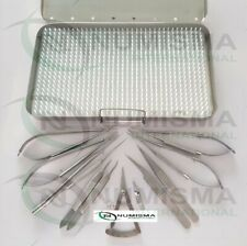 Hand Surgery Instruments Set Micro Surgical Instruments German Quality Numisma