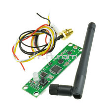 Wireless DMX512 PCB Modules Board LED Controller Transmitter Receiver w/ Antenna