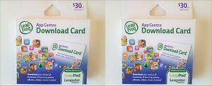 60-Worth-2-LeapFrog-30ea-App-Centre-Game-Book-Download-Card-LeapPad-Leapster