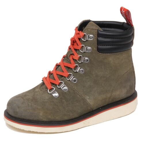 Scarpa Donna Effect Green no Vintage Box Martens Sage Woman Boot Dr F1384 pqZ1Egw