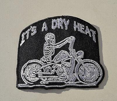 Harley`s Don`t Leak.. Patch Aufnäher Badge Aufbügler Chopper Biker Kutte