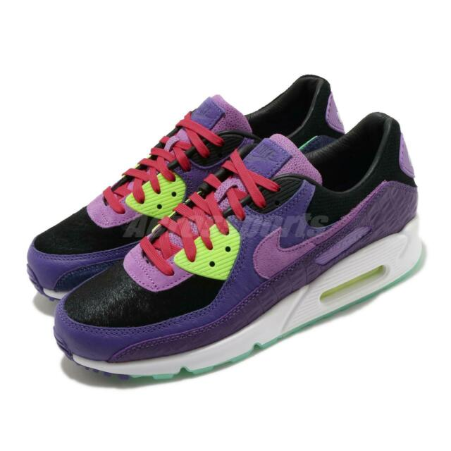Size 7.5 - Nike Air Max 90 Exotic Animal Pack - Violet Blend 2020 ...