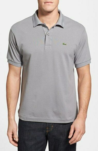 Size 4 Medium Men's Lacoste Polo T-Shirt L121251 KC8 Classic Fit Cotton Casual