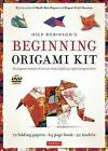 Nick Robinson's Beginning Origami Kit: An Origami Master Shows You How to Fold 20 Captivating Models [Dvd, 72 Folding Papers, 64-Page Book] by Nick Robinson (Hardback, 2016)