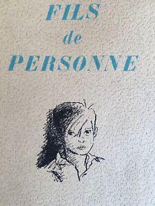 EO-Fils-de-personne-Henry-de-Montherlant-SUITE-SIGNEE-Jacques-Grange-Papier