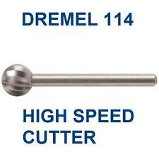 """Dremel Rotary 5/16"""" Bit Diameter High Speed Steel Cutter 114 5pk"""