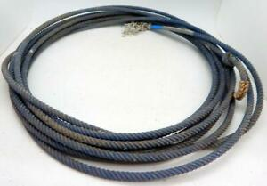 UNRAVEL ONLY lariat cowboy decor team rope lasso rodeo FREE SHIPPING 1-Used