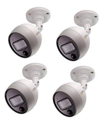 New Q-See QCA8081B 4MP Analog Bullet Security Camera PIR Technology Night Vision