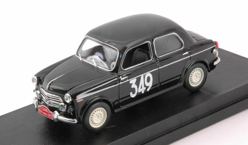 FIAT 1100 e  349 25th Monte Carlo 1955 Dunod Sampigny 1 43 MODEL rio4581 Rio