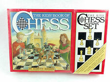 The Kids' Book of Chess and Chess Set NIB