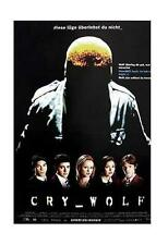 CRY WOLF FILMPOSTER / POSTER