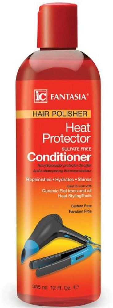 Fantasia IC Hair Polisher Heat Protector Sulfate-Free Conditioner 12 oz