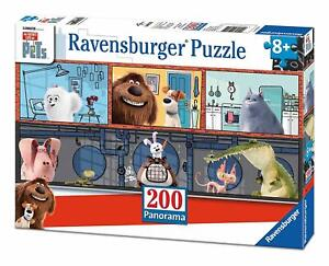 Ravensburger-12834-Puzzle-Secret-Life-of-Pets-200-Pieces-Panorama-8ans-ou-plus