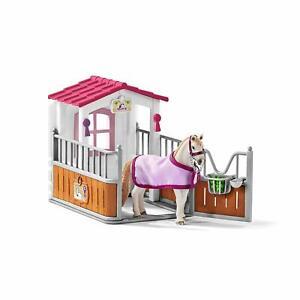 Schleich-42368-Horse-Stall-with-Lusitano-Set-Toy-Figurines-2019-NIB