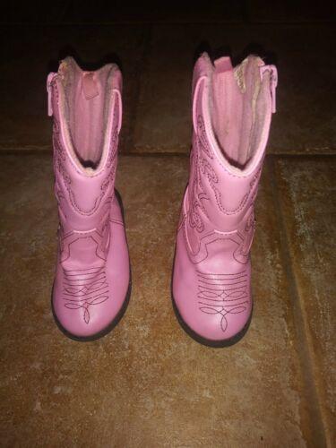 Cowgirl Boots Koala Kids Light Pink Youth Sz 5 Wes