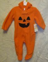 Child's Infant's Small Wonders Pumpkin Halloween Costume Size 3-6 Months