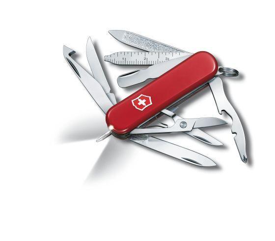 Coltellino VICTORINOX Utensile tascabile COLTELLO 0.6386 MIDNITE Mini Champ Nuovo